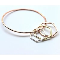 LA Jewellery Recycled Nourish Bangle.