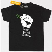All Riot 'Power to the Peaceful' T-Shirt