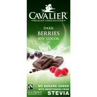 Cavalier Belgian Chocolate with Dark Berries 85g