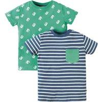 Frugi Tresco Cactus T-shirts - Pack of 2