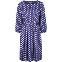 Mudd & Water Drift Away Dress - Navy Shell Print