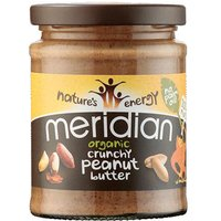 Meridian Peanut Butter - Crunchy - No Added Sugar or Salt - 280g