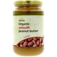Suma Smooth Organic Peanut Butter (Unsalted) 340g