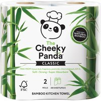 The Cheeky Panda FSC 100% Bamboo Kitchen Towel - Pack of 2
