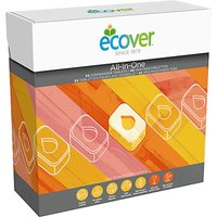 Ecover Dishwash Tablets - All In One - 68 Tablets