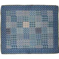 Tile Print Cotton Voile Quilt