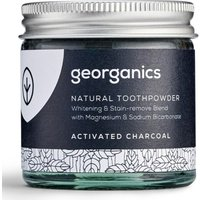 Georganics Natural Toothpowder - Activated Charcoal - 60ml.
