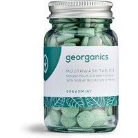 Georganics Mouthwash Tablets - Spearmint - 180 Tabs.