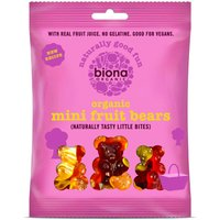 Biona Organic Mini Fruit Jelly Bears 75g