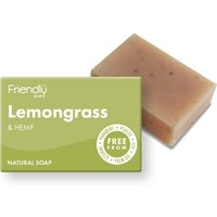 Friendly Soap Lemongrass & Hemp Bath Soap - 95g.
