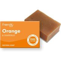 Friendly Soap Orange & Grapefruit Bath Soap - 95g.