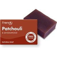 Friendly Soap Patchouli & Sandalwood Bath Soap - 95g.