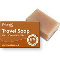 Friendly Soap Hair & Body Travel Soap Bar - 95g.