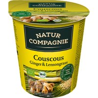 Natur Compagnie Organic Couscous Ginger & Lemongrass Snackpot - 55g