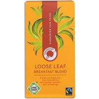 Traidcraft Fair Trade Breakfast Blend Loose Leaf Tea - 125g