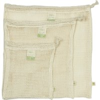 A Slice of Green Organic Cotton Mesh Produce Bags - Set of 3