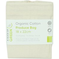 A Slice of Green Organic Cotton Produce Bag - Small