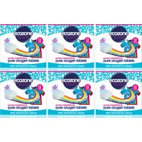 Ecozone Kit Whitening Oxygen Laundry Tablets x 12 - Pack of 6