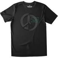 All Riot Illusion Of Peace Organic T-shirt - Black