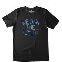 All Riot We Own The Future Organic T-shirt - Black