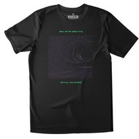 All Riot What Are We Going To Do Organic T-shirt - Black