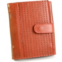 Elvis and Kresse Reclaimed Firehose Folding Purse - Red