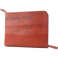Elvis & Kresse Reclaimed Firehose Tablet Case - Red