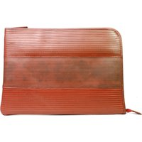Elvis & Kresse Reclaimed Firehose Laptop Case - Red