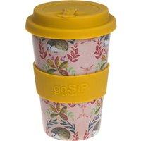 Rice Husk Reusable Coffee Cup - Hedgehogs - 400ml