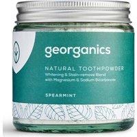 Georganics Natural Toothpowder - Spearmint - 120ml.