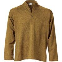 Cotton Khaddar Long Sleeve Shirt - Olive
