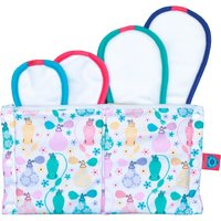 Bloom and Nora Reusable Sanitary Pads Trial Pack - Nora - Assorted Designs - Pack of 4