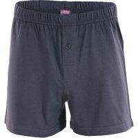 Organic Cotton Ben Boxer Shorts - Navy Graphite