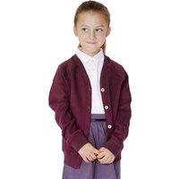 Organic Cotton School Cardigan - 3yrs Plus.