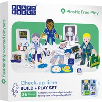 Play Press Toys Check-up Time Build and Play Set.