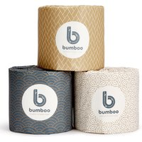 Bumboo Luxury Bamboo Toilet Paper - 48 Extra Long Rolls.