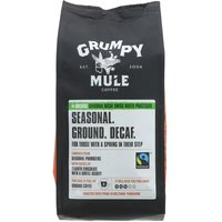 Grumpy Mule Decaffeinated Ground Coffee - 227g.