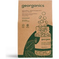 Georganics Mouthwash Tablets - Spearmint - 720 Refill.