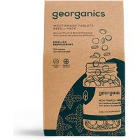 Georganics Mouthwash Tablets - English Peppermint - 720 Refill.