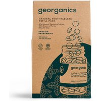 Georganics Toothpaste Tablets - Peppermint - 720 Refill.
