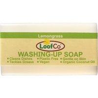 Loofco Lemongrass Washing Up Soap Bar - 100g.