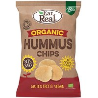 Eat Real Organic Hummus Salt Chips - 100g.