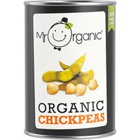 Mr Organic Chickpeas - 400g.