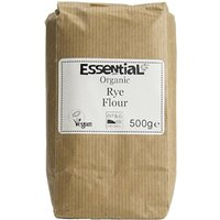 Essential Trading Organic Stoneground Wholemeal Rye Flour - 500g