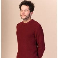 Melawear Ravi Knit Jumper - Burgundy Red.