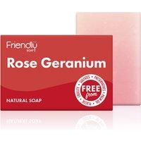 Friendly Soap Rose Geranium Soap Bar - 95g.