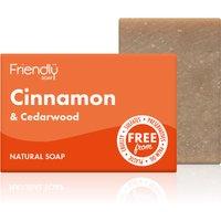 Friendly Soap Cinnamon & Cedarwood Soap Bar - 95g.