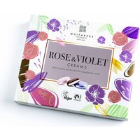 Whitakers Foiled Rose & Violet Creams - 200g.