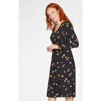 Thought Everly Wrap Dress - Black