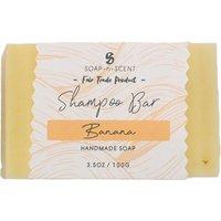 Fair Trade Solid Shampoo Bar - Banana - 100g.